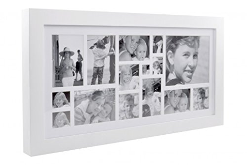 XL Boom XLBF17150-01 Cadres Photo, Blanc, 89 x 46,5 x 5,1 cm
