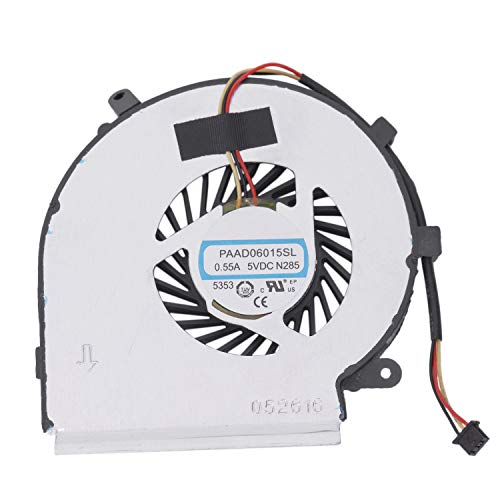 Wivarra Cpu Cooling Fan For Msi Ge62 Gl62 Ge72 Gl72 Gp62 Gp72 Pe60 Pe70 Series 3Pin 0.55A 5Vdc