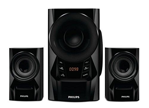 Philips IN-MMS6080B/94 2.1 Speaker System (Black)