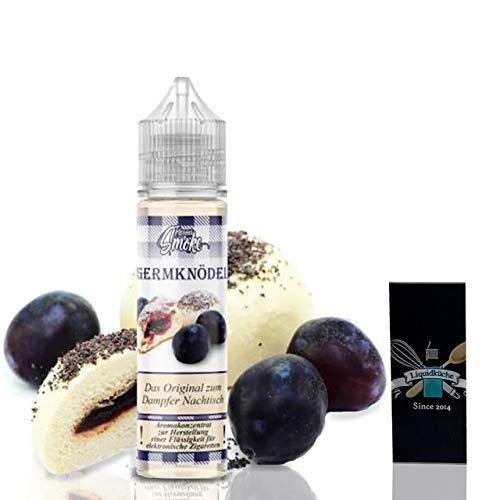 Flavour Smoke Germknödel 20ml Aroma + 1x Liquidküche Akku Sleeve Nikotinfrei | zum Mischen von Liquid für EZigaretten | Akkuschlauch Schutzhülle für deine Akkus | Konzentrat | Ohne Nikotin