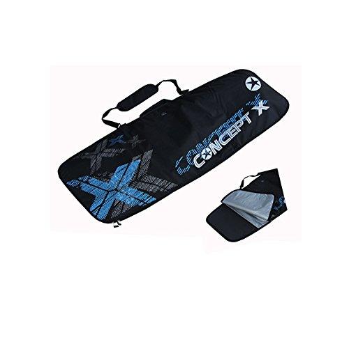 Concept X - Borsone per tavola da kitesurfing, colore: nero