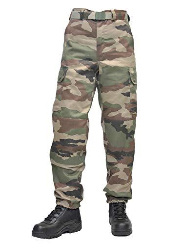GP Tactique - Pantalon Militaire - Mixte - Pantalon modèle Armée française P122 - Camouflage - 38