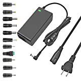 TKDY 24V 2.5A AC DC Adapter 60W Power Supply for LED Strip Light, 3D Printer, LCD Monitor, with 5.5 x 2.5 mm and 11 PCS DC Connector, Compatible with 24Volt 0-2500mA Devices.