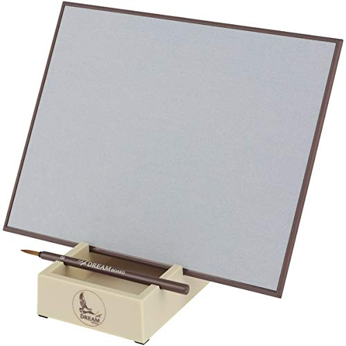 Creative Mark Dream Board for Water Painting Meditation & Stress Relief - Includes Artist Bamboo Paintbrush & Stand
