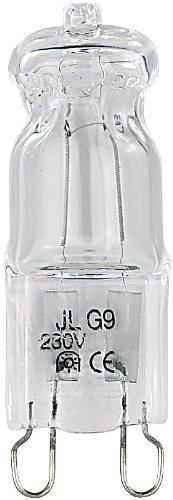 Luminea Halogen G9 dimmbar: Halogen-Stiftsockellampe G9, 230 Volt, 42 Watt, 625 Lumen, warmweiß (G9 Leuchtmittel)