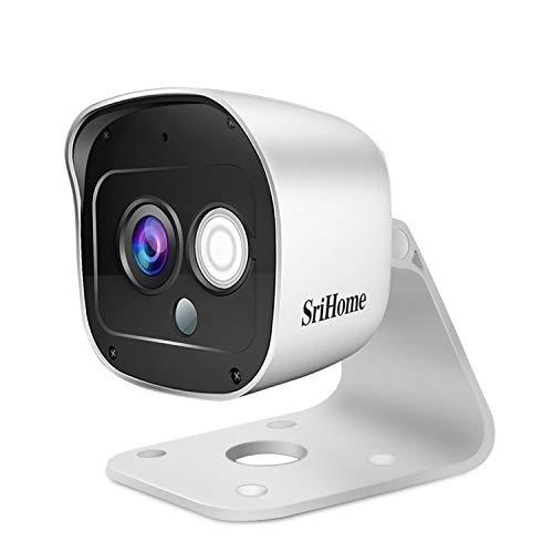 Cámara de Vigilancia WiFi SriHome SH029, Cámara IP 1296P...