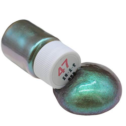 wuweiwei12 1 Flasche Epoxidharz Farbe Metallic Metallic Farbe Resin Farbe Seifenfarbe, Perlglanz...