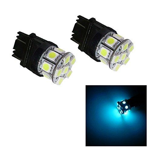 PA 2 x 13smd LED 3157 3457 A 3156 Arrêt automatique de la lumière/arrière/Side Marker Light/feu arrière/Turn Signal ampoules 12 V (ICE BLUE)