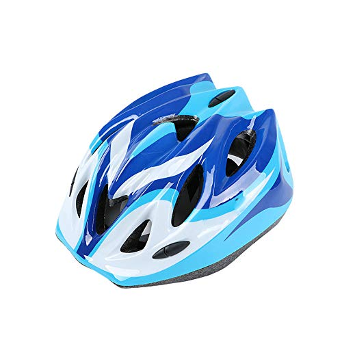 Ouuager-Home Casques Polyvalents Garçons et Thrasher Casque de Microcoquille Casque de vélo Casque vélo Skate Girl Casque de vélo (Color : Blue)