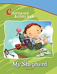 Psalm 23 - Coloring and Activity Book: Bible Chapters for Kids