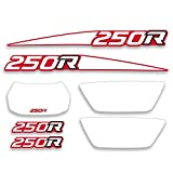 Decal Graphics Kit Made for fits Honda 1988 TRX 250R Decal Graphics Kit - Assorted Colors
