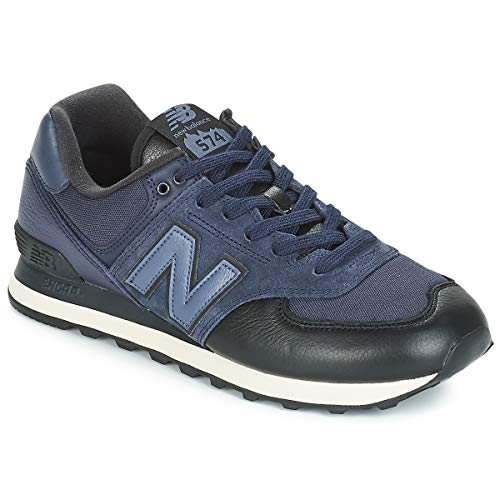 New Balance 574v2, Zapatillas Hombre, Azul (Nb Navy/Nb Navy Lhg), 44 EU
