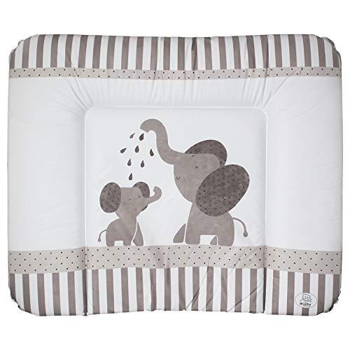 Rotho Wickelauflage 72x85 cm weiß bedruckt Modern Elephants