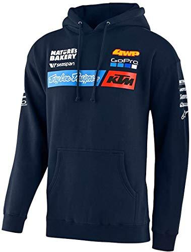 Troy Lee Designs Team KTM Hoodie Marineblau M