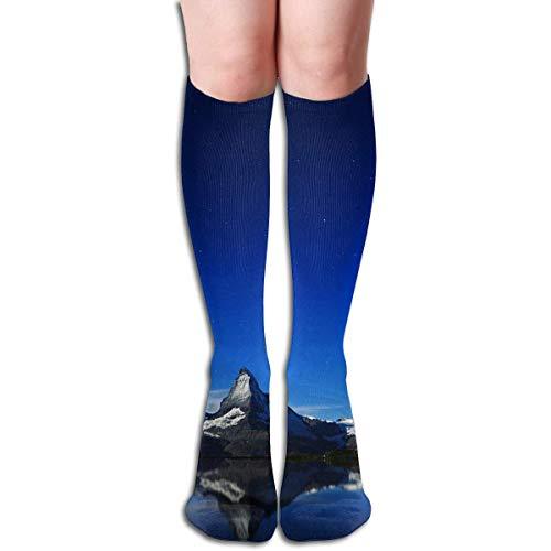 SDFGSE Tube High Keen Sock Boots Crew Matterhorn Compression Socks Long Sport Stockings