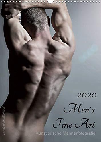 Men´s Fine Art - Künstlerische Männerfotografie (Wandkalender 2020 DIN A3 hoch): Mit diesem Titel präsentiert uns Patrick Mc Donald seine Idee ... 14 Seiten ) (CALVENDO Menschen)