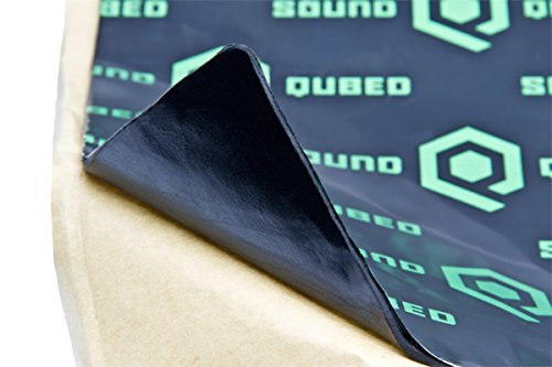 SoundQubed Q-MAT Sound Deadening Audio Insulation Mat 86.6...