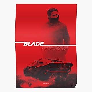 Harrison Ford Blade 2049 Ryan Runner Movie Gosling Regalo para la decoración del hogar Wall Art Print Poster 11.7 x 16.5 inch