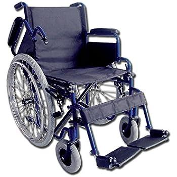 Carrozzina Oxford, seduta 46 cm, sedia a rotelle per anziani