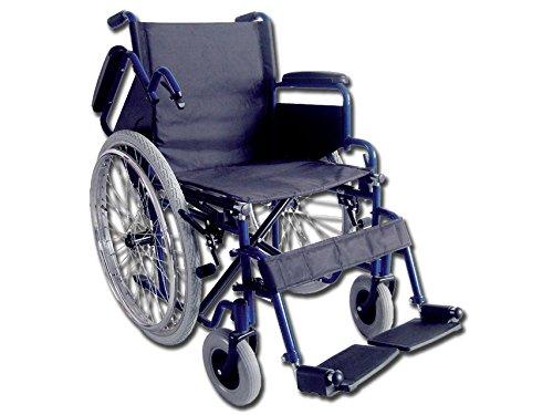 Carrozzina Oxford, seduta 51 cm, sedia a rotelle per anziani