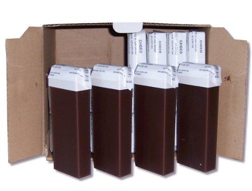 Storepil - 24 recharges 100 ml de cire à épiler - CHOCOLAT pour épilation