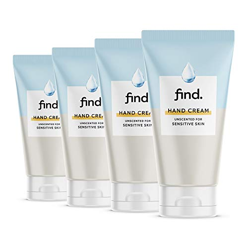 FIND - Unscented Hand Cream for sensitive skin (4x75ml)