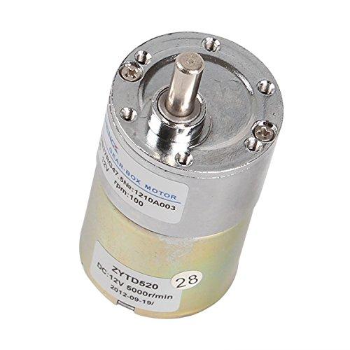 Elektrischer Motor, 12 V Gleichstrom, 100 U/min, hohe Drehmoment, Drehzahlregelung, Drehzahlregler, Umkehrbare Drehzahl