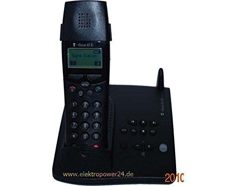 Telekom T-Sinus 45 Komfort schnurloses DECT Telefon Basisstation und Handteil