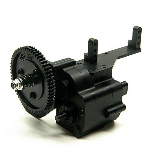 XUNJIAJIE AX2 - Caja de transferencia de 2 velocidades para coche Crawler 1/10 RC Crawler Wraith & SCX10/Honcho