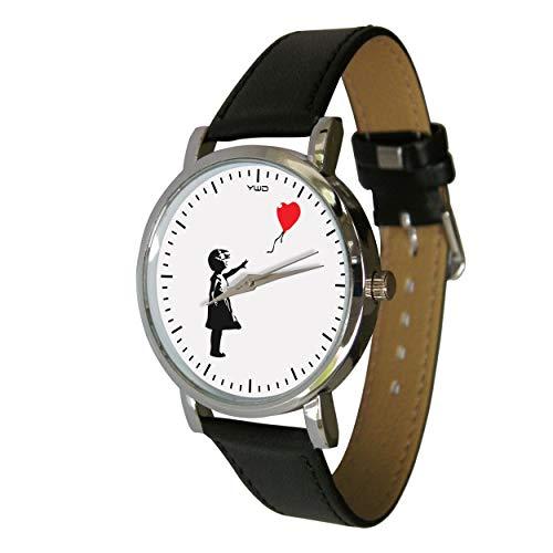 Your Watch Design. Banksy Ballon Girl Analog Uhr