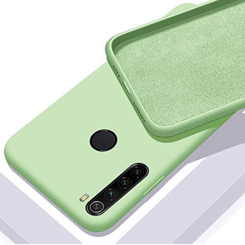 Capa Silicone Macio Xiaomi Redmi Note 8 Forro Interno - Verde