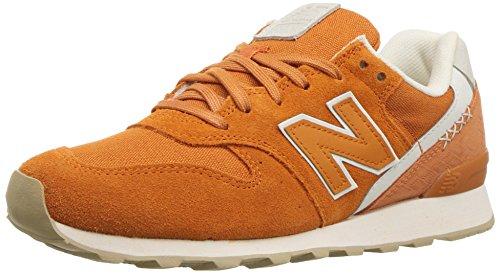 New Balance - - Frauen 996 WL696 Schuhe, 35 EUR - Width B, Vintage Orange/Sea Salt