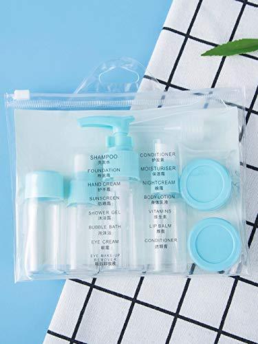 9 * Reissubflessen Sproeifles voor alcoholdesinfectie Reissetfles Hydraterende cosmetica, kleine gieter Draagbare lege fles