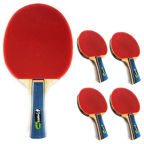Find Bargain MightySpin Lightning - Increased Performance Ping Pong Paddle | Next Level Backhand For...