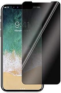 واقي شاشة من الزجاج المقسي 6.5 انش للخصوصية لهاتف ايفون اكس اس ماكس مضاد للتجسس