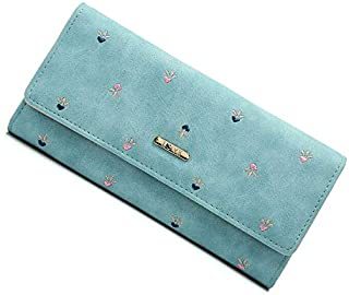 Victory Royal Women's PU Leather Clutch (PKDSWALLET6, Multicolour)