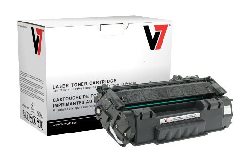 V7 V749AG Remanufactured Toner Cartridge for HP Q5949A (HP 49A) - 2500 Page Yield
