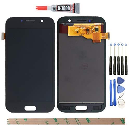 YHX-OU para Pantalla LCD de 5,2 Pulgadas Samsung Galaxy A5 2017 A520 A520F de reparación y sustitución + digitalizador táctil con Herramientas Incluidas