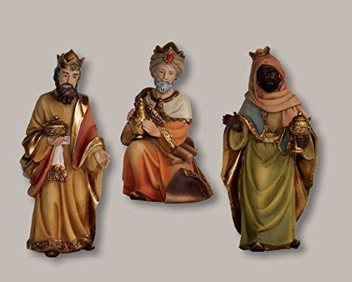 Unbekannt Heilige DREI Könige, 3tlg, für 12-13cm Figuren