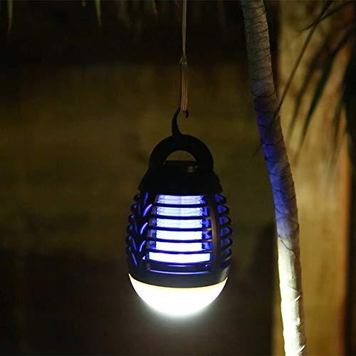 SELUXU Luce della zanzara della Lampada della Lanterna di Campeggio Luce della zanzara della Lanterna Portatile Impermeabile USB Ricaricabile