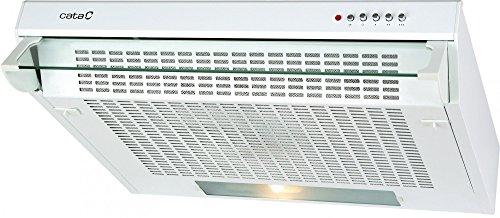 CATA F 2060 WH 220 m³/h De pared Blanco D - Campana (220 m³/h, Canalizado/Recirculación, F, g, E, 60 dB)