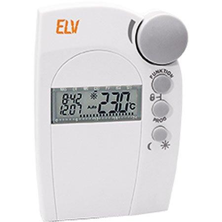 ELV FHT80b Funk-Heizkörperthermostat, ivory