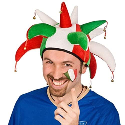 Carnival 05929 – Chapeau Jolly Italie en velours en enveloppe