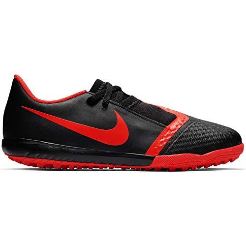 Nike Unisex Niños Jr. Phantom Venom Academy Tf - Botas de fútbol, color Black Bright Crimson Black 60, tamaño 3 Y