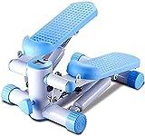 ZOUSHUAIDEDIAN Stepping Deck Mini Steps Entrenador de máquina aeróbica con Bandas elásticas Ajustables y Pantalla LCD para Oficina en casa y Gimnasio