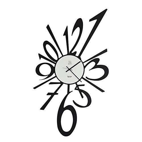 Big Band-Uhr, Schwarz