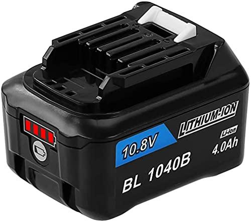 Moticett 互換 マキタ 10.8V バッテリー 4000mAh BL1015 BL1040B BL1060 互換バッテリー 掃除機/電動工具用 BL1050B BL1041B-2 BL1021B BL1060B A-59863 リチウムイオン電池