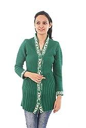 FREUNDIN® Free Size Womens Woollen Cardigan CS-5 German Design
