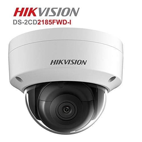 Hikvision DS-2CD2185FWD-I - Telecamera di sicurezza ad alta risoluzione per esterni H.265 + IP67 firmware aggiornabile versione internazionale (2,8 mm)