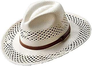 Homero Ortega(オメロオルテガ) パナマハット パナマ帽 メンズ 中折れハット ウェスタンハット 春夏帽子 エクアドル製 ローサスFN